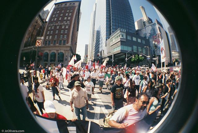Empowering Immigrant Community Leaders through Democratic Social Movements