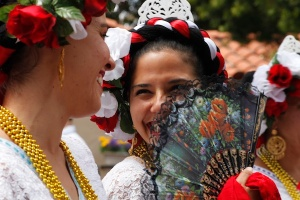 Courtesy of Momfia Inc.SDMA Ballet Folklorico en Aztlan